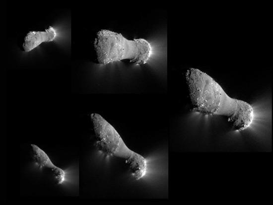 Hartley Comet